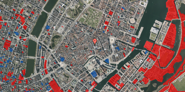 Jordforureningskort på Købmagergade 9, 3. tv, 1150 København K
