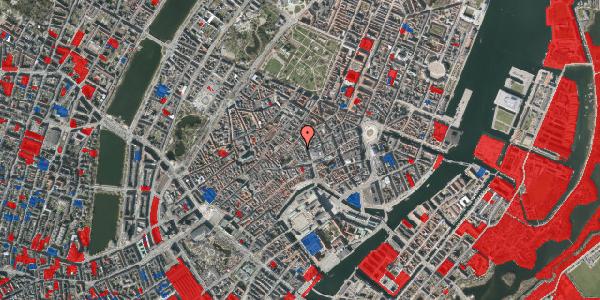 Jordforureningskort på Købmagergade 13B, 1. tv, 1150 København K