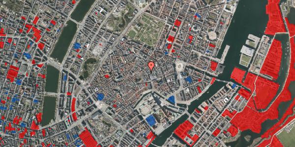 Jordforureningskort på Købmagergade 13, 1. th, 1150 København K