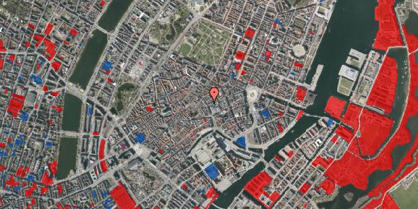 Jordforureningskort på Købmagergade 22, st. 1, 1150 København K