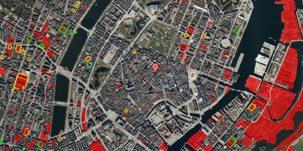 Jordforureningskort på Købmagergade 39, 1. , 1150 København K