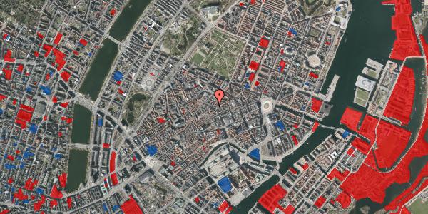 Jordforureningskort på Købmagergade 40, st. 3, 1150 København K