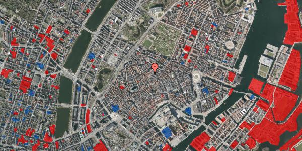 Jordforureningskort på Købmagergade 47, st. 3, 1150 København K