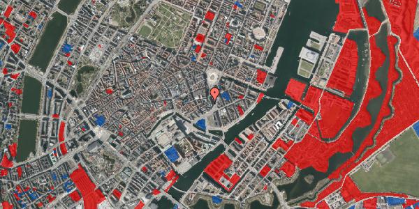 Jordforureningskort på Laksegade 5, 3. tv, 1063 København K
