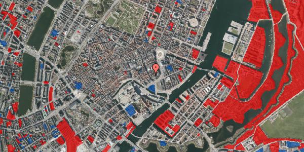 Jordforureningskort på Laksegade 14, 1. tv, 1063 København K