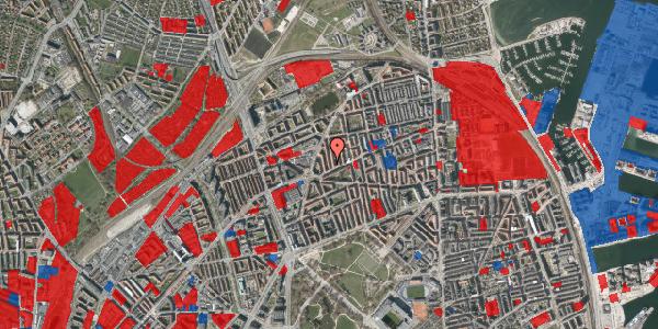 Jordforureningskort på Lange-Müllers Gade 5, 2. tv, 2100 København Ø