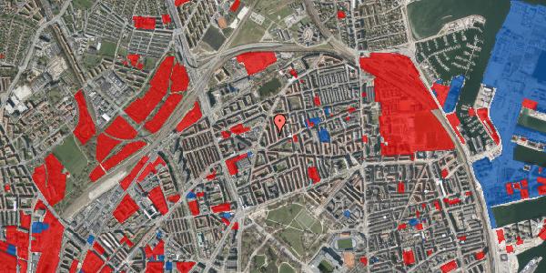 Jordforureningskort på Lange-Müllers Gade 7, 1. th, 2100 København Ø
