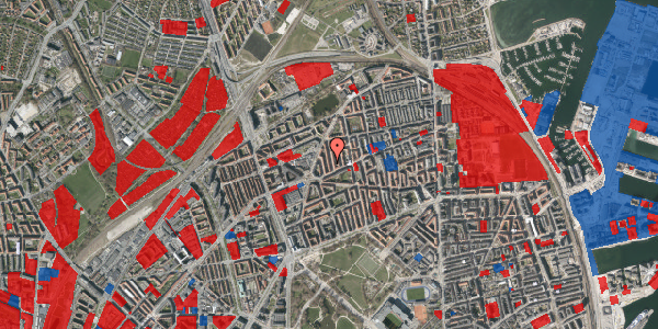 Jordforureningskort på Lange-Müllers Gade 7, 2. tv, 2100 København Ø