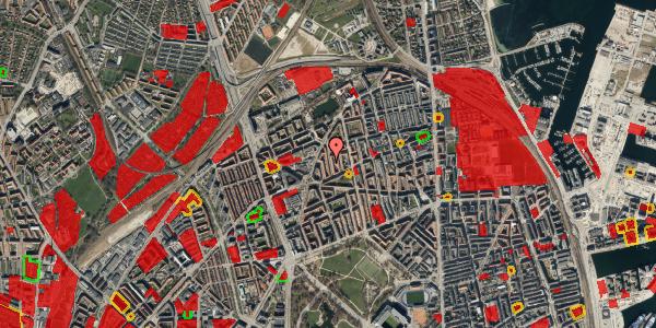 Jordforureningskort på Lange-Müllers Gade 11, st. tv, 2100 København Ø