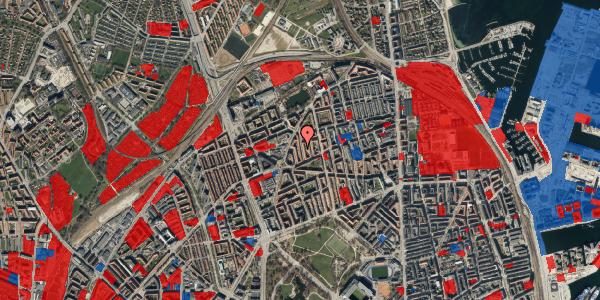 Jordforureningskort på Lange-Müllers Gade 11, 1. tv, 2100 København Ø