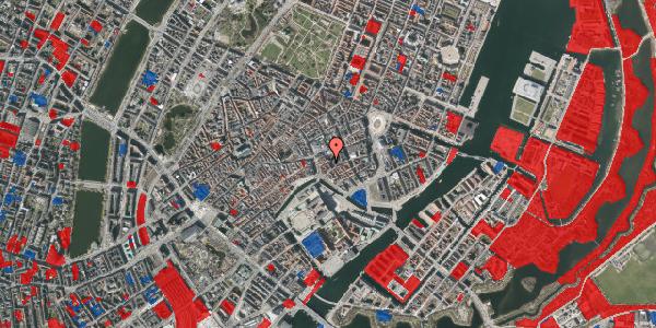 Jordforureningskort på Lille Kirkestræde 1, 3. , 1072 København K