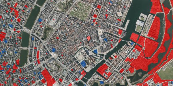 Jordforureningskort på Lille Kirkestræde 3, 3. th, 1072 København K