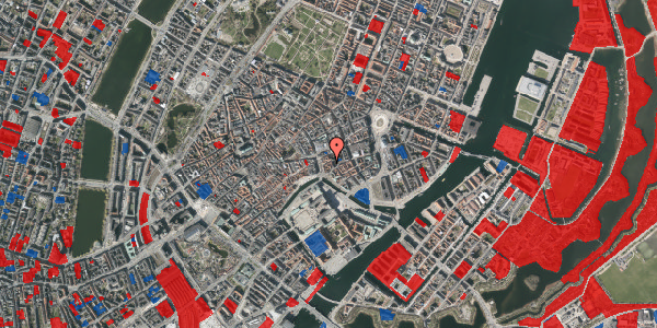 Jordforureningskort på Lille Kirkestræde 3, 3. tv, 1072 København K