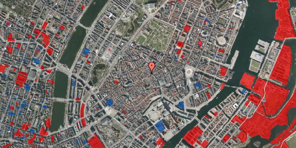 Jordforureningskort på Løvstræde 4A, 5. , 1152 København K