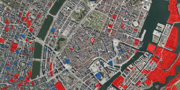 Jordforureningskort på Løvstræde 8, 3. tv, 1152 København K