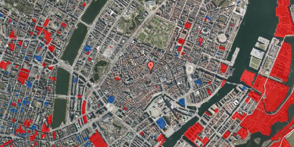 Jordforureningskort på Løvstræde 10, 1. th, 1152 København K