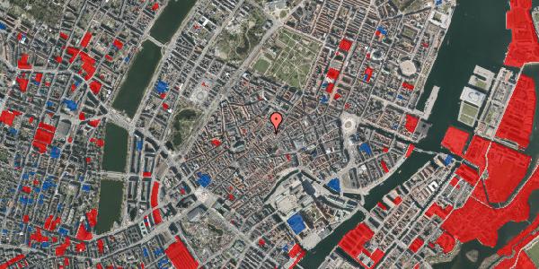 Jordforureningskort på Løvstræde 14, 1. th, 1152 København K