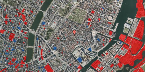 Jordforureningskort på Løvstræde 14, 3. tv, 1152 København K