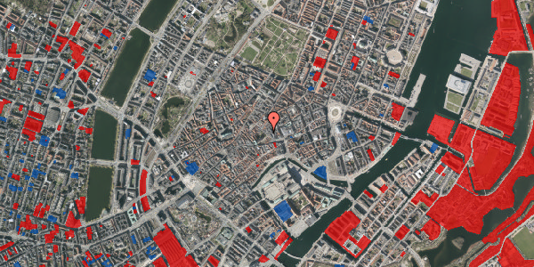 Jordforureningskort på Niels Hemmingsens Gade 10, st. 3, 1153 København K