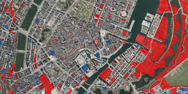Jordforureningskort på Nikolajgade 19, 3. , 1068 København K