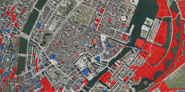 Jordforureningskort på Nikolaj Plads 5, 1. 1, 1067 København K