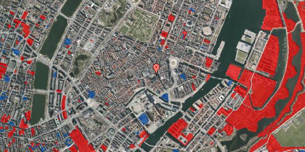 Jordforureningskort på Nikolaj Plads 6, 1. , 1067 København K