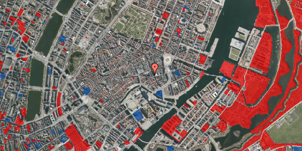Jordforureningskort på Nikolaj Plads 9, 3. tv, 1067 København K
