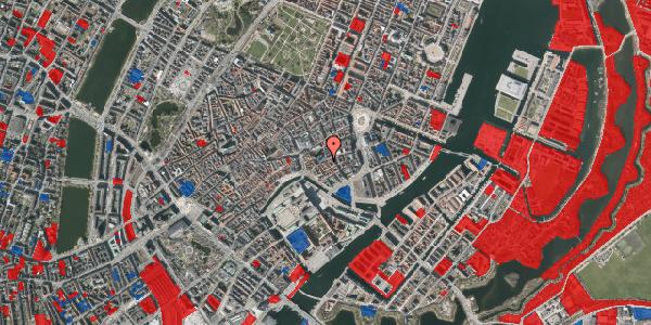 Jordforureningskort på Nikolaj Plads 23, 3. , 1067 København K