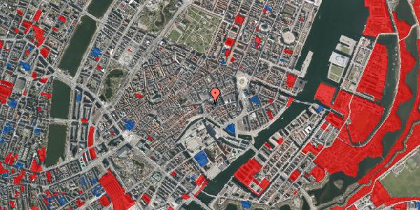 Jordforureningskort på Nikolaj Plads 26, 3. , 1067 København K