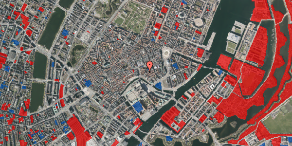 Jordforureningskort på Nikolaj Plads 34, 1. tv, 1067 København K