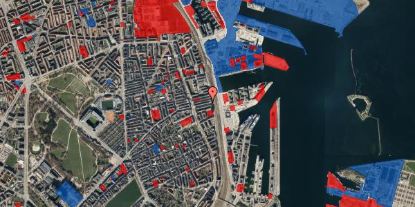 Jordforureningskort på Nordre Frihavnsgade 97, 3. , 2100 København Ø