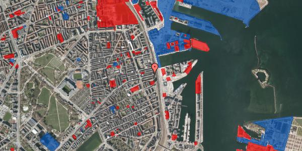 Jordforureningskort på Nordre Frihavnsgade 99, 1. th, 2100 København Ø