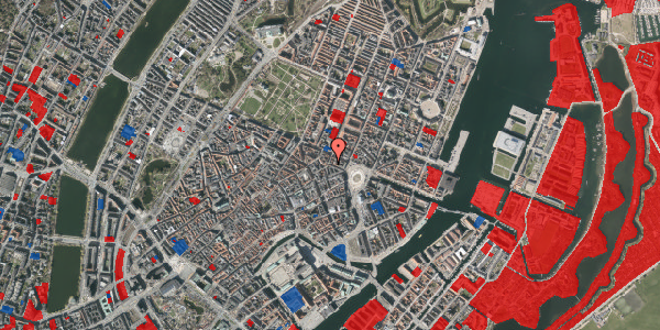 Jordforureningskort på Ny Adelgade 9, 4. tv, 1104 København K