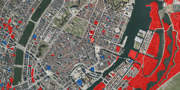 Jordforureningskort på Ny Adelgade 12, kl. tv, 1104 København K