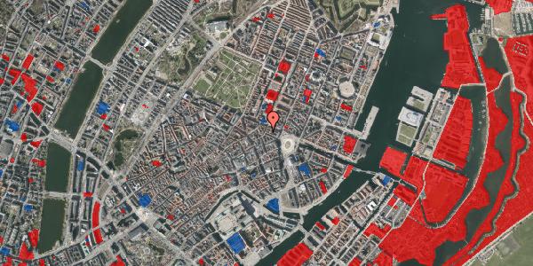 Jordforureningskort på Ny Adelgade 12, 3. tv, 1104 København K