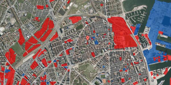 Jordforureningskort på Nygårdsvej 50, st. , 2100 København Ø