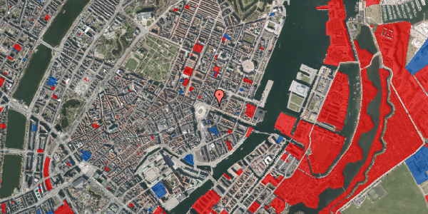 Jordforureningskort på Nyhavn 1, 2. , 1051 København K