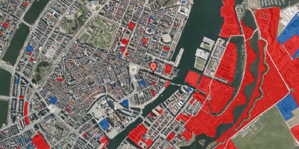 Jordforureningskort på Nyhavn 6, 1. , 1051 København K