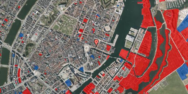Jordforureningskort på Nyhavn 7, 1. 1, 1051 København K