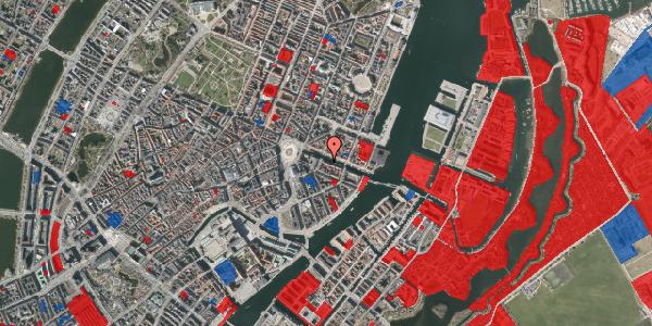Jordforureningskort på Nyhavn 8, kl. th, 1051 København K