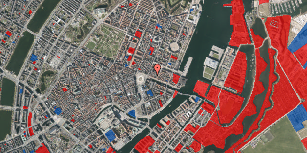 Jordforureningskort på Nyhavn 9A, st. , 1051 København K