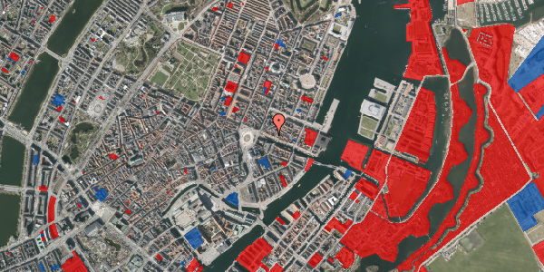Jordforureningskort på Nyhavn 13, 1. , 1051 København K