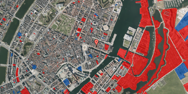 Jordforureningskort på Nyhavn 17, kl. th, 1051 København K