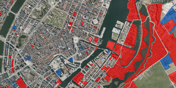 Jordforureningskort på Nyhavn 18, 1. , 1051 København K