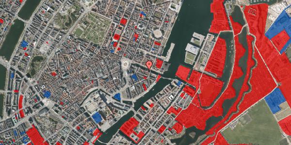 Jordforureningskort på Nyhavn 20C, 1. tv, 1051 København K