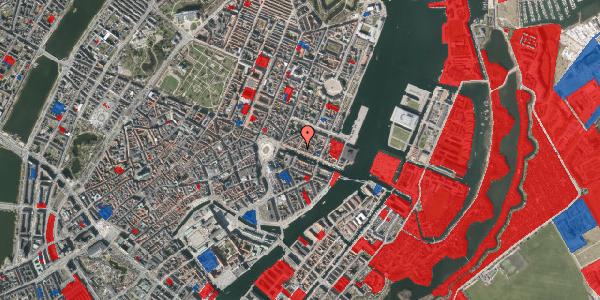 Jordforureningskort på Nyhavn 21, 1. tv, 1051 København K