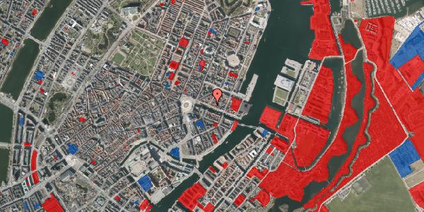 Jordforureningskort på Nyhavn 25, 1. , 1051 København K