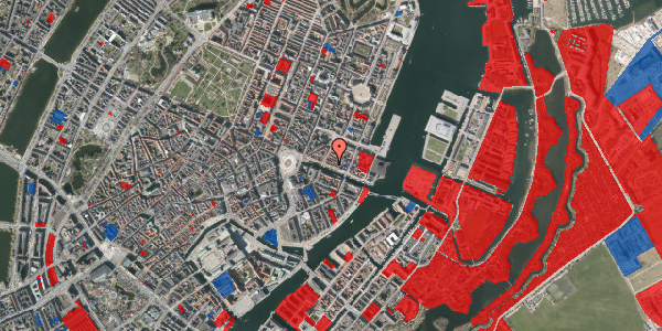 Jordforureningskort på Nyhavn 29, 1. , 1051 København K