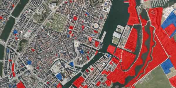 Jordforureningskort på Nyhavn 31B, 4. tv, 1051 København K