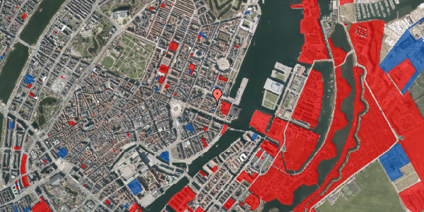 Jordforureningskort på Nyhavn 31F, 1. th, 1051 København K